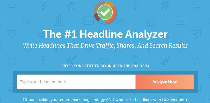 Content Writing Tool - Headline Analyzer