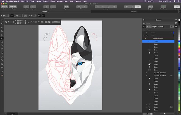 Graphic Designing Software - CorelDraw