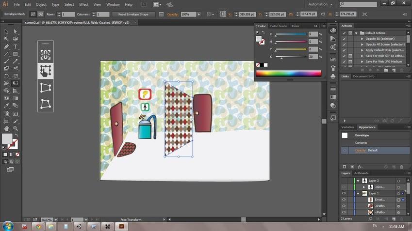 Graphic Designing Software - Illustrator