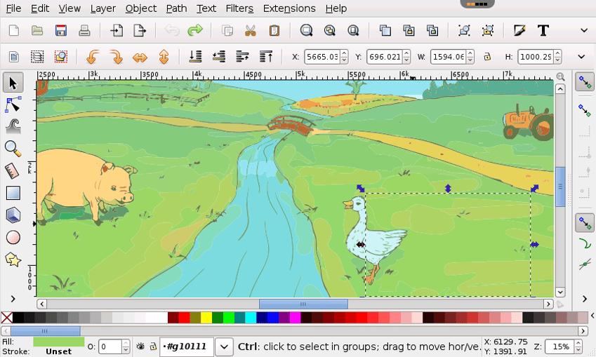 Graphic Designing Software - Inkscape