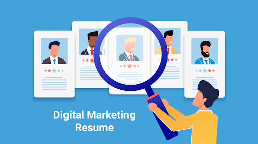 6 essentials of a digital marketing resume